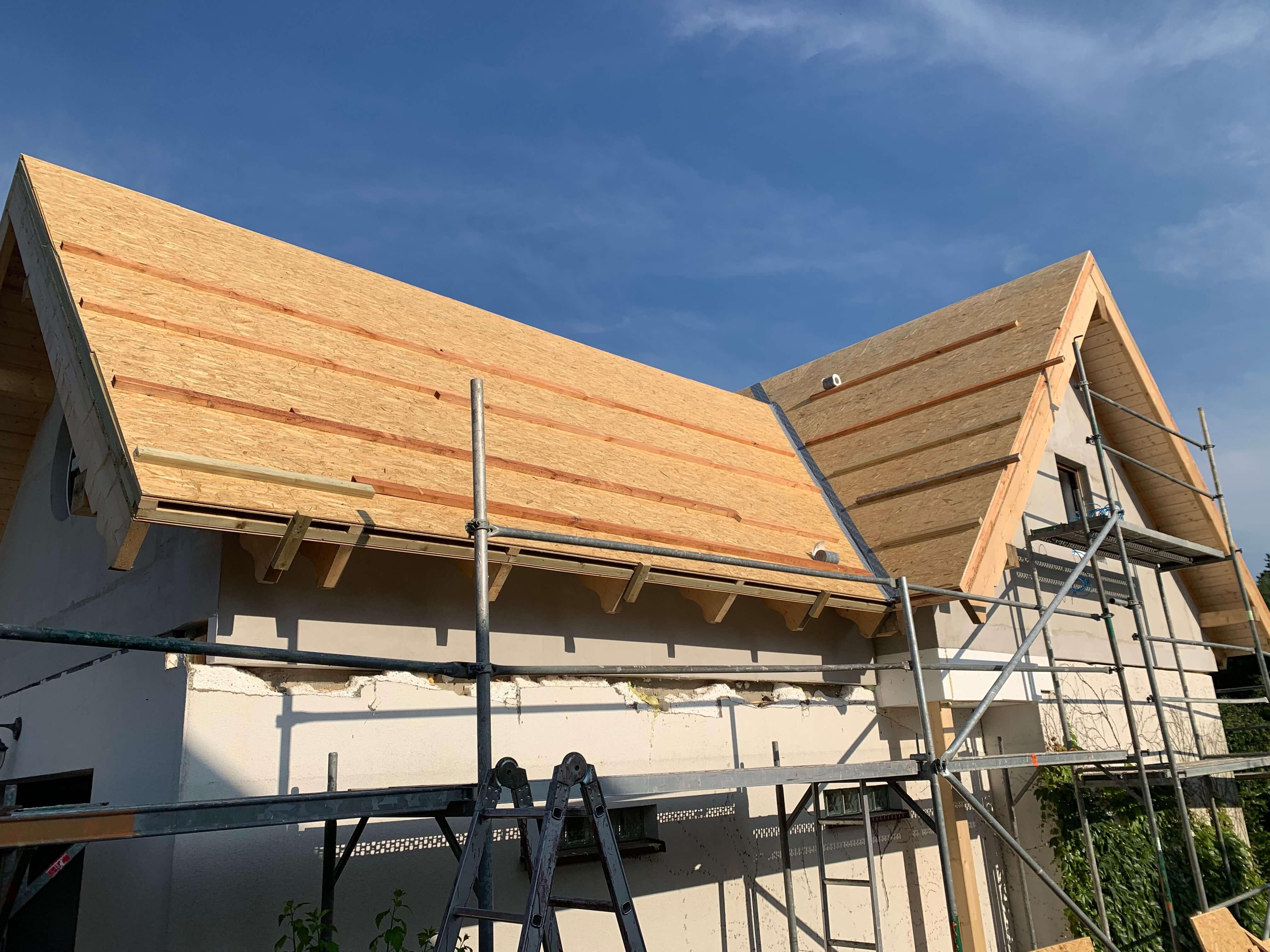 Rozbudowa domu w technologii prefabrykacji